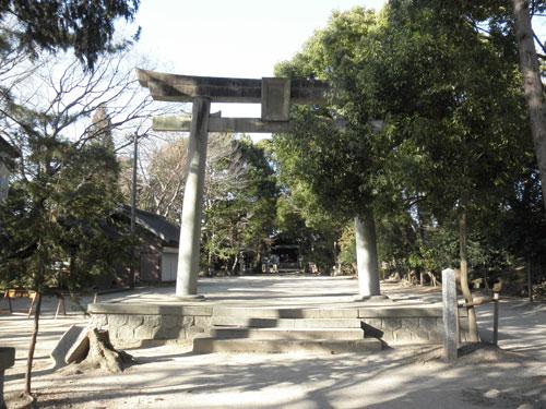 矢作神社鳥居