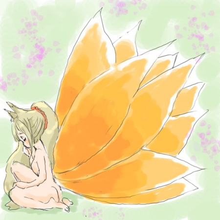 九尾の花狐