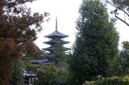 法隆寺遠景
