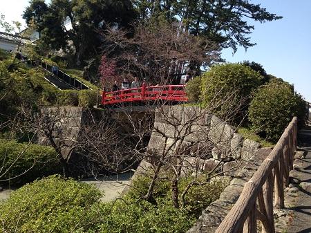 小田原城 橋