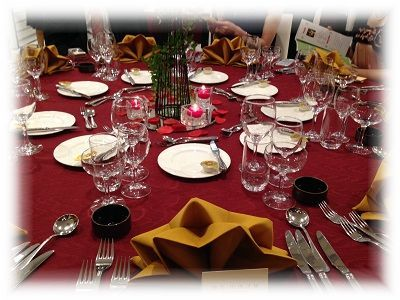 結婚式 テーブル ぼかし2