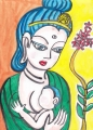 2北川民次 『母子像』