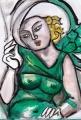 1緑のドレスの女レンピッカ