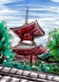 4久米寺多宝塔