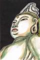 4塑像如意輪観音坐像岡寺