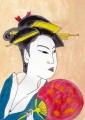 1喜多川歌麿「高島おひさ」