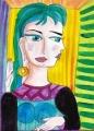 2ドラマールの肖像Pablo Ruiz Picasso