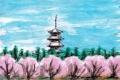 3御室桜仁和寺