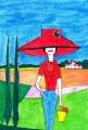 1 赤い帽子ロジェボナフェ