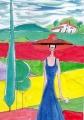 2赤い帽子の女ロジェボナフェ