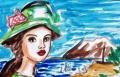 2海辺の女ベルナール・シャロワ