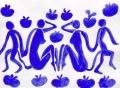 2青い女と猿