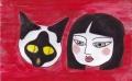 斉藤清猫と少女