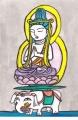 5岩船寺普賢菩薩騎象像