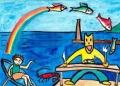 2バルテュス地中海の猫