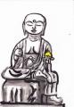 6禅定寺地蔵菩薩踏下像