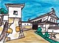 4姫路城菱の門