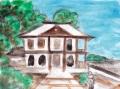 6宝山寺獅子閣