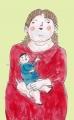 ボテロ母子像