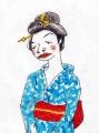 竹久夢二夏の女