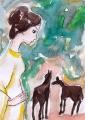 4馬と少女ベルナール・シャロワ