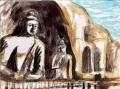 4龍門石窟の盧遮那仏