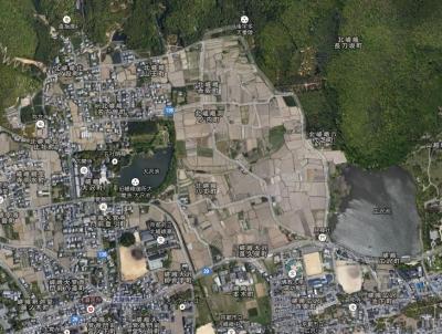 嵯峨野航空写真