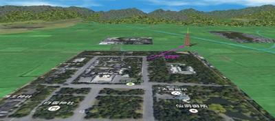 京都御所と相国寺七重大塔
