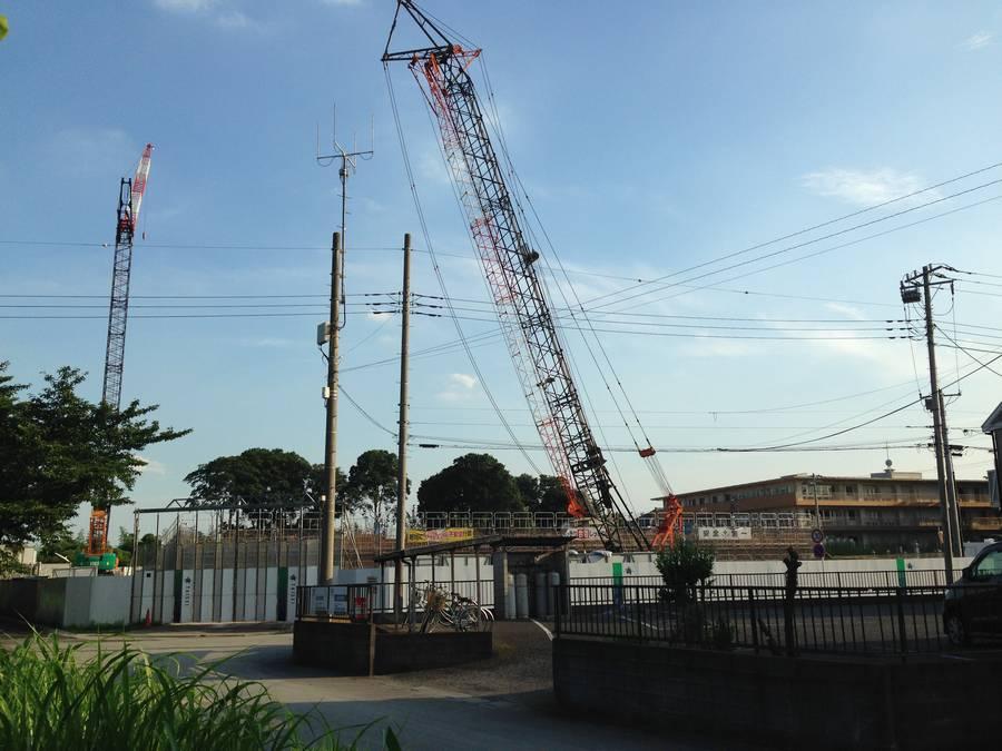 新築移転工事の進む東大宮メディカルセンター①