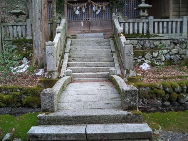 南宮神社の参道橋