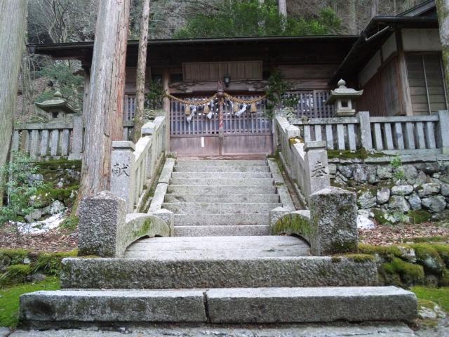 南宮神社の参道橋 (2)