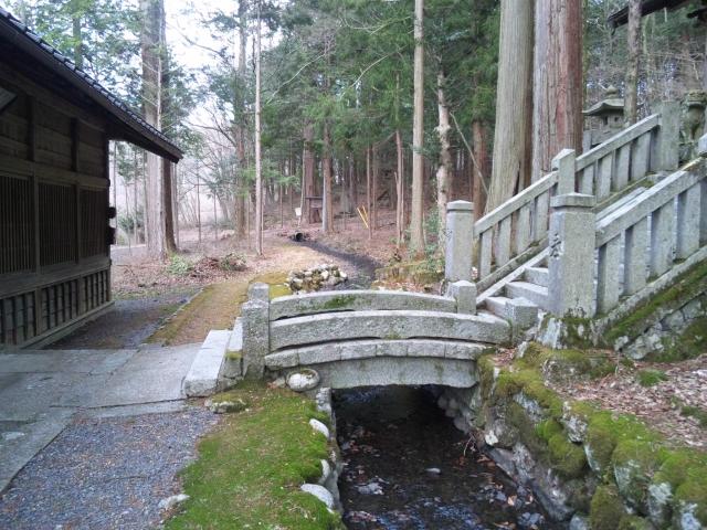 南宮神社の参道橋 (4)