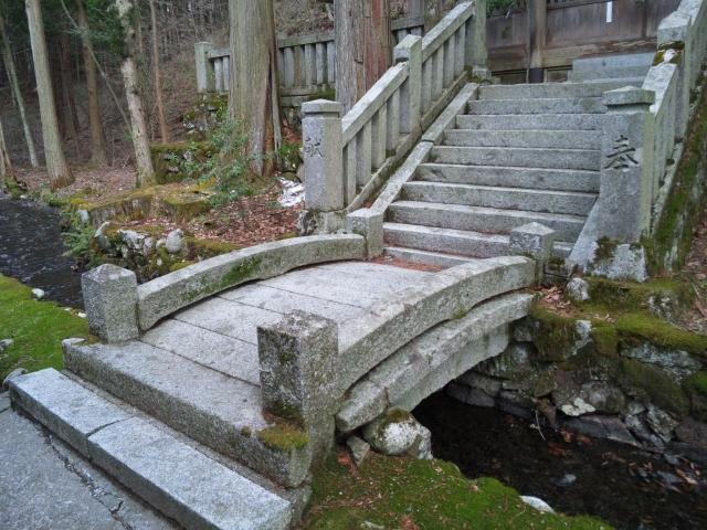 南宮神社の参道橋 (3)