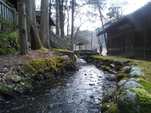南宮神社の参道橋 (5)