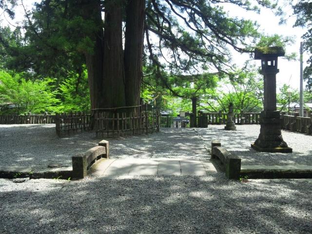 戸隠神社中社の参道橋 (5)