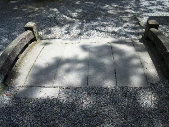 戸隠神社中社の参道橋 (6)
