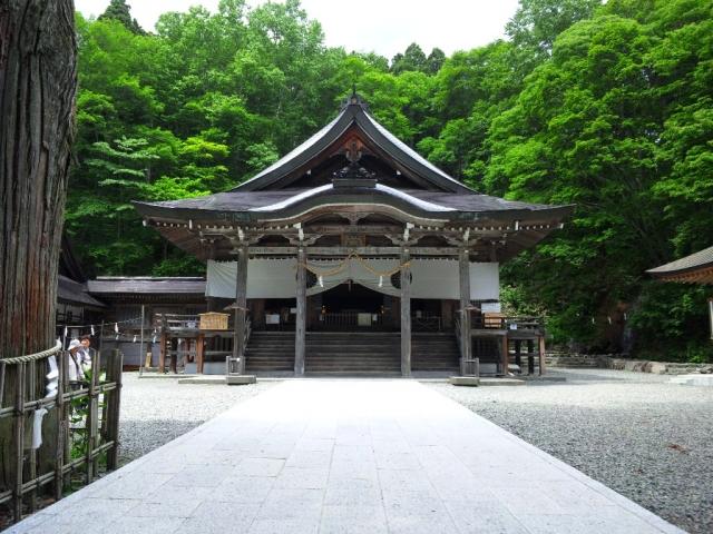 戸隠神社中社の参道橋 (9)