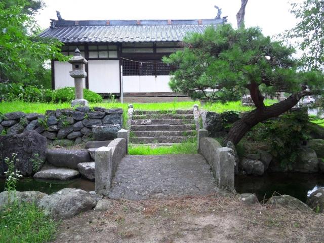 廣野邊神社の石橋