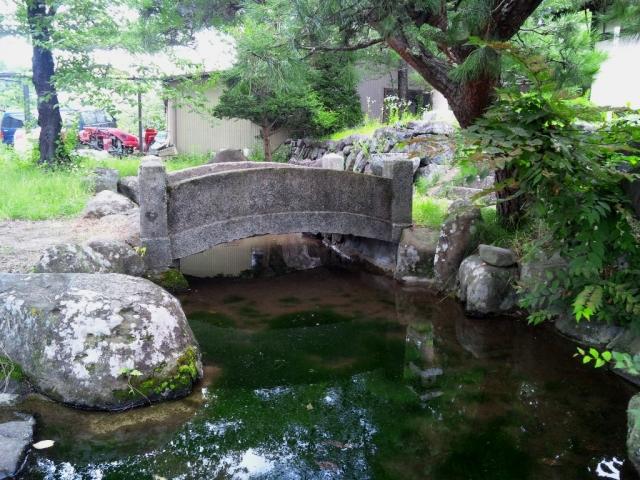 廣野邊神社の石橋 (4)