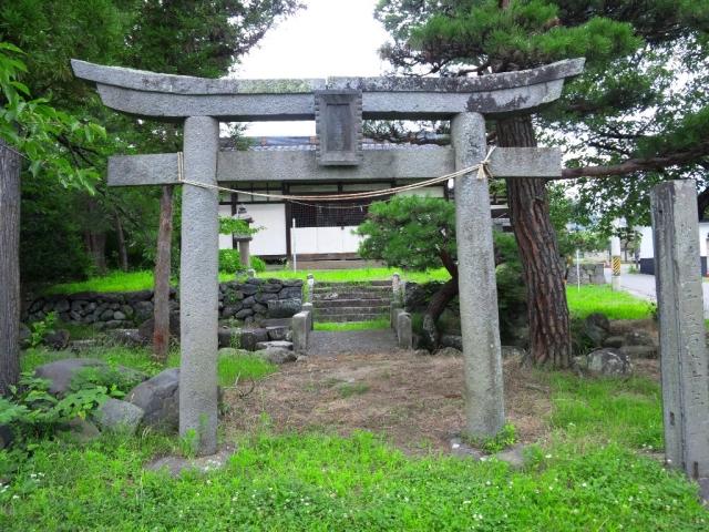 廣野邊神社の石橋 (5)