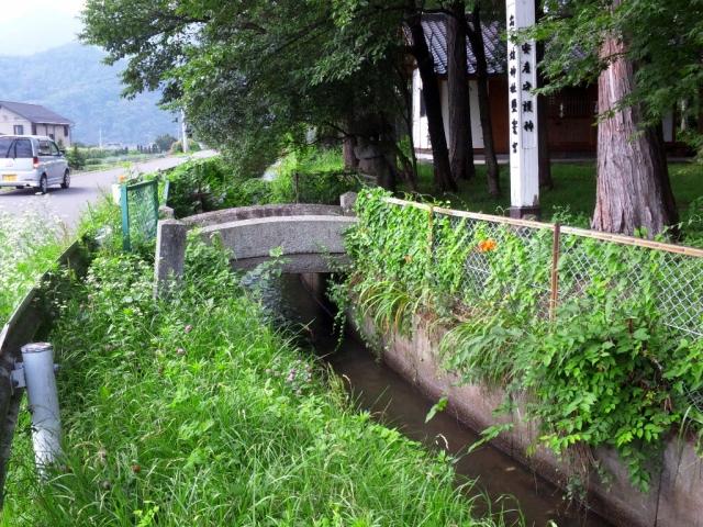 出早雄神社の参道橋 (7)