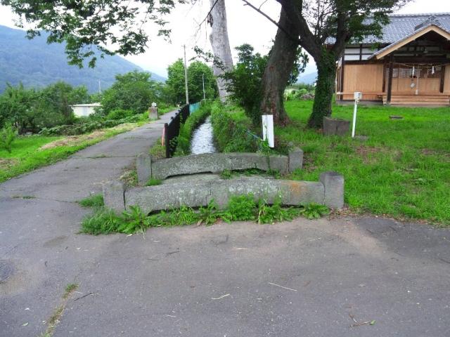 表木神社の石橋 (5)