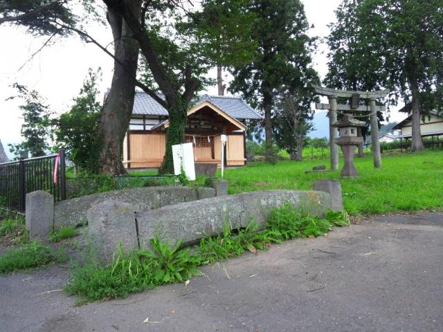 表木神社の石橋 (7)