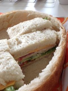 サンドイッチ完成