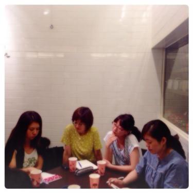あらたな日本人韓国人メンバの参加者も^^