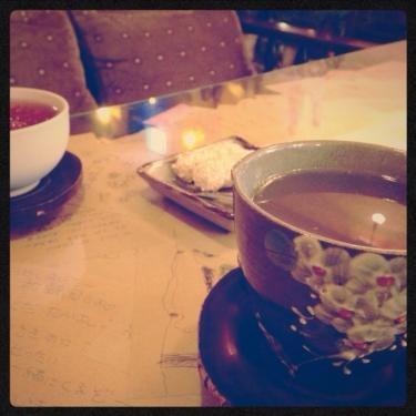 韓国の伝統茶でまったり^^