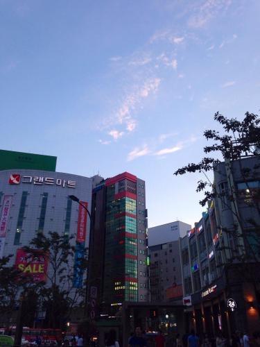 懐かしい待ち合わせ場所@新村駅3番出口