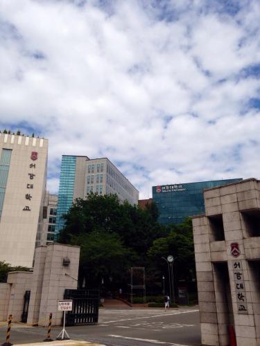 서강(西江)大学。