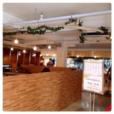 ソウル市立大学 寄宿舎内にある食堂。