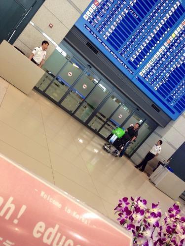 今日も仁川空港からスタート^^